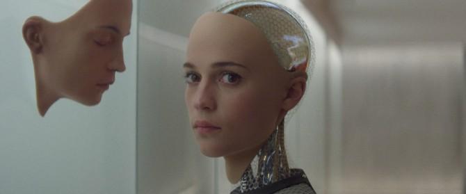 영화 '엑스 마키나'의 주인공인 AI 에이바 - 엑스 마키나 화면캡처 제공